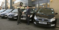 Top Limo firm takes delivery of 600 Ford Galaxy MPVs