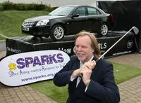 Rick Wakeman drives off Cadillac / Sparks Roadshow