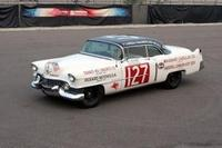 "1954 ""Carrera Cadillac"" race car rides again"