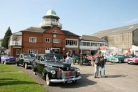 Cadillac Club of Great Britain celebrated the brand's Dewar Trophy win of 1908 at Brooklands