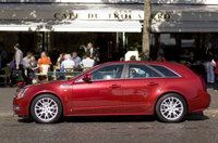 CTS Sport Wagon is Cadillac's star at Paris Motor Show