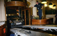 Cadillac scales steps to Royal Automobile Club