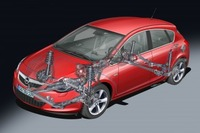 Driver appeal and comfort hallmarks of new Astra's chassis