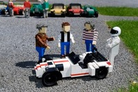 Caterham R500 immortalised in LEGO