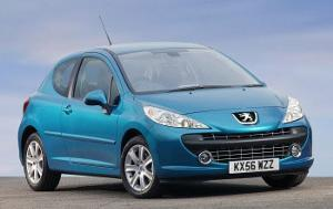 peugeot 207 has a positive affect on avis rental customers easier. Black Bedroom Furniture Sets. Home Design Ideas