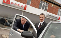 Latest Daihatsu dealer has an unusual claim to fame