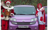 Daihatsu sign up Mr & Mrs Christmas!