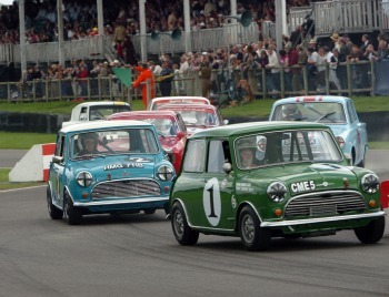 goodwood says mini happy returns to a british motoring. Black Bedroom Furniture Sets. Home Design Ideas