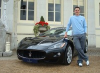 Maserati proudly supports British golfer Justin Rose