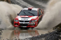 Mitsubishi and Wilks win British Rally Championship