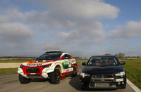 Stephane Peterhansel - Lancer Evolution vs. Racing Lancer