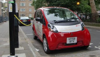 Electric i MiEV city car in Government 'real world' trials