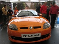 New MG TF wows the crowds at Silverstone International