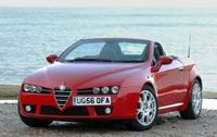 New Alfa Spider on sale in UK