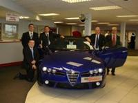 The award winning new Alfa Spider is here