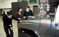 Young designers shape future of Hummer through HX concept