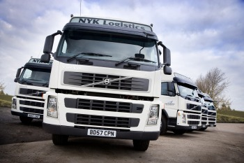 Fleet of 100 'green' Euro 5 trucks into service with NYK Logistics | Easier