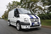 Drive a Ford van to get in Champions League football draw