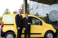 Swedish Post delivers with Fiat Fiorino