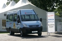 Iveco delivers the 1,000th Daily minibus to the Variety Club