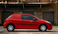 Peugeot 207 van available in new colours