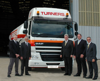 Turners of Soham take their 100th DAF FTP tractor
