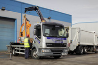 New DAF helps ensure the bins get emptied