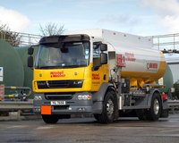 DAF's light weight means more litres delivered