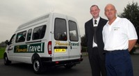 Maxus minibus helps business take off