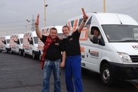 The LDV workforce takes the MAXUS fleet to the roads