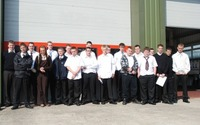 New apprentices welcomed by Renault Trucks