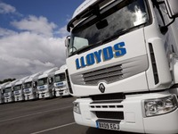 Lloyds Transport won over by Renault Trucks