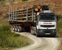 PA Laing Timber haulage company logs its first Renault