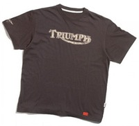 Triumph re-creates vintage t-shirt as worn by Steve McQueen!
