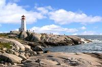 Lighthouse Peggys Cove Nova Scotia Canada