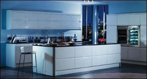 how to gloss kitchen cabinets go futuristic in your kitchen with magnet easier 17005