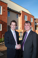 Barratt hands over first affordable homes in Wembley