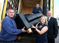 Flood victims get helping hand from Redrow