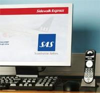 SAS first airline to offer internet & IP telephony in lounges