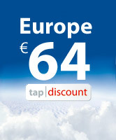 TAP offers all Europe for 64 Euros