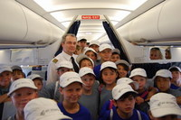 Air Astana's gift to children
