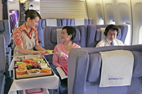 Oasis airlines completes business class makeover easier - Delta airlines hong kong office ...