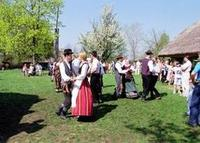 Easter celebrations at the Open Air Museum Of Lithuania