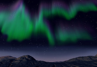 Sky-gazers flock to see Northern Lights