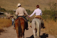Year round ranching for a range of cowboys in Arizona
