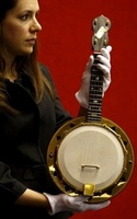 Unveiled - George Harrison's gold plated Banjolele