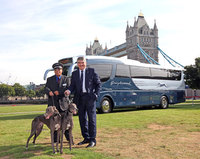 Iconic Greyhound coaches launch in the UK