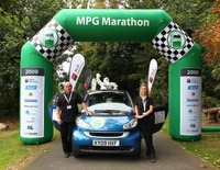 smart cdi goes extra mile to win 2009 MPG Marathon