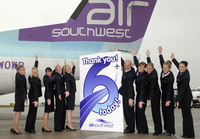 Air Southwest launches 'Plane Amazing' birthday search