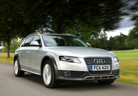 Audi A4 Allroad excels in its field in Scotland